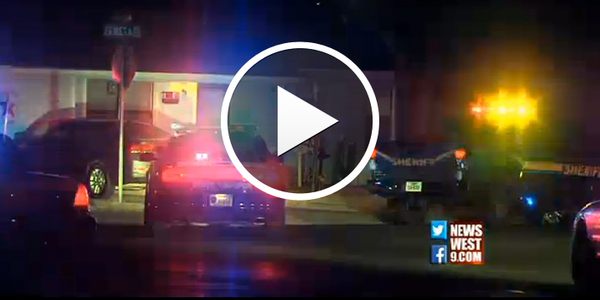 Video: Texas Officer Struck by Deputy's Vehicle During Pursuit