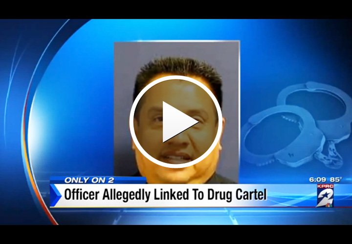 Video: Houston PD Officer Linked to Drug Cartel, Bond Hearing Held