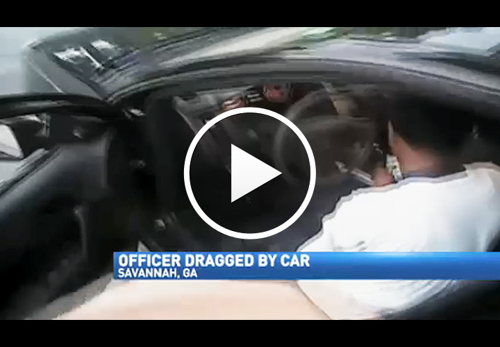 Video: Georgia Officer Dragged by Car at Traffic Stop