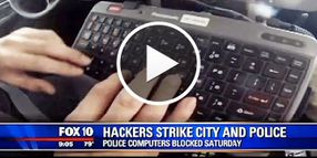 Video: Hackers Bring Down Phoenix PD Internet Access Temporarily