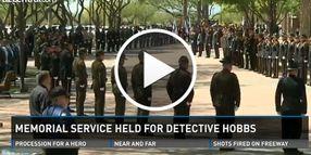Video: Thousands Attend Memorial for Slain Phoenix Officer