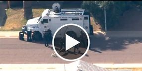 Video: Small Dog Harasses Phoenix K-9, Officers During Barricade