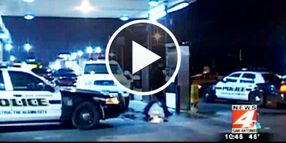 Video: San Antonio Officer Shot in Head, Critical