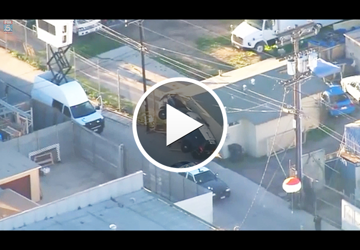 Video: Suspect Runs Over San Diego Officer with His Own Patrol Car
