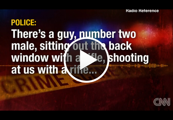 Video: Hostage, 2 Bank Robbery Suspects Killed in Gun Battle After Police Chase