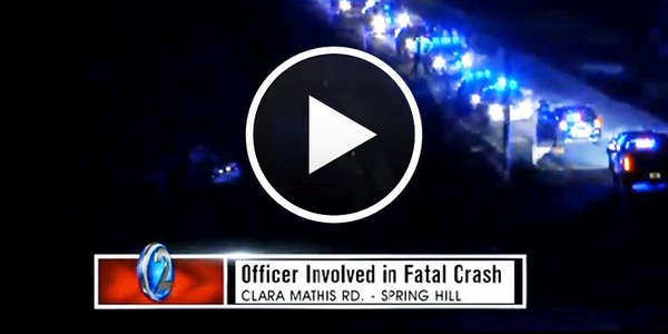 Video: Tennessee Deputy Killed in Pursuit Crash