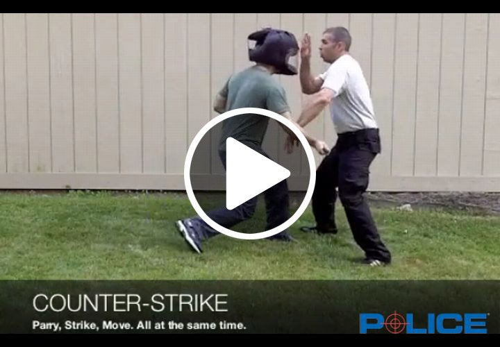 Video: Countering Edged-Weapon Attacks