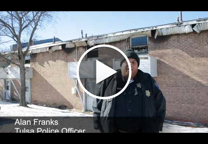 Video: Tulsa Officer Catches Baby Tossed from Apartment Fire