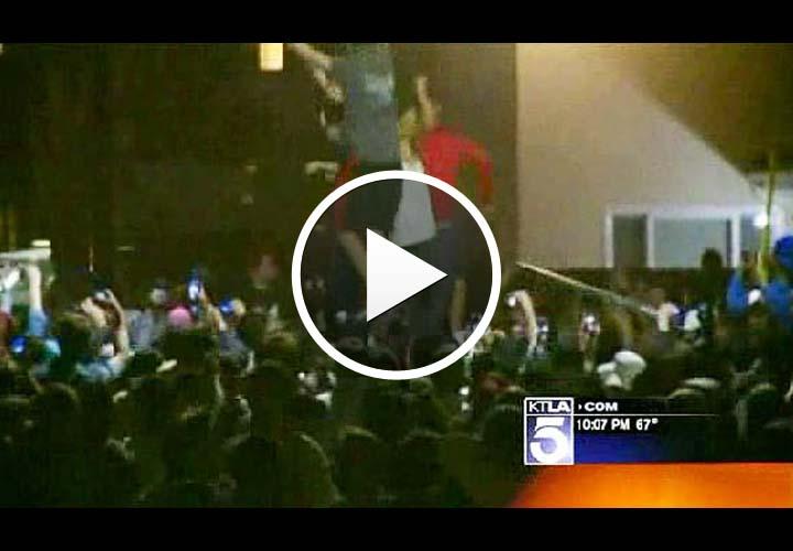 Video: University Officer Badly Injured During Calif. Spring Break Riot