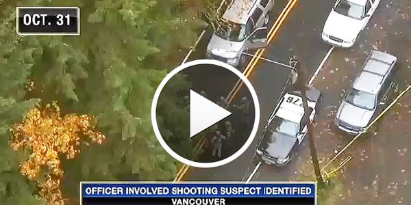 Video: Washington Officers Shot 911 Caller During Murder Suspect Manhunt