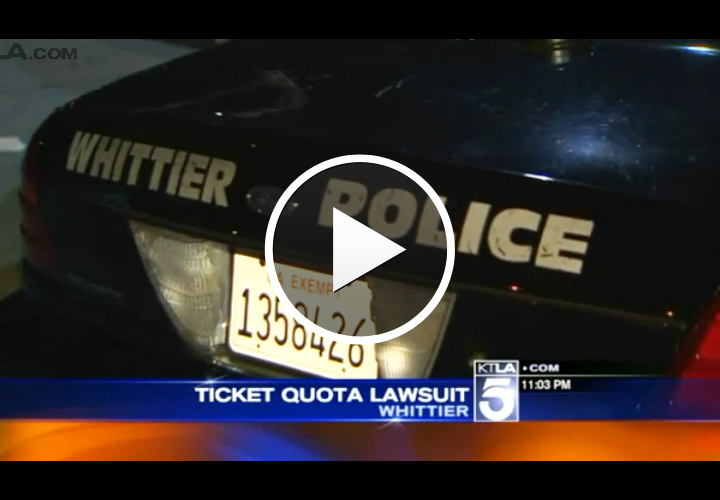 Video: California Officers Sue, Claim Agency Retaliated After They Complained About Ticket Quotas