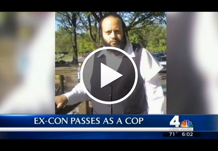 Video: Ex Convict-Turned-Rabbi Busted for Posing as Police Officer