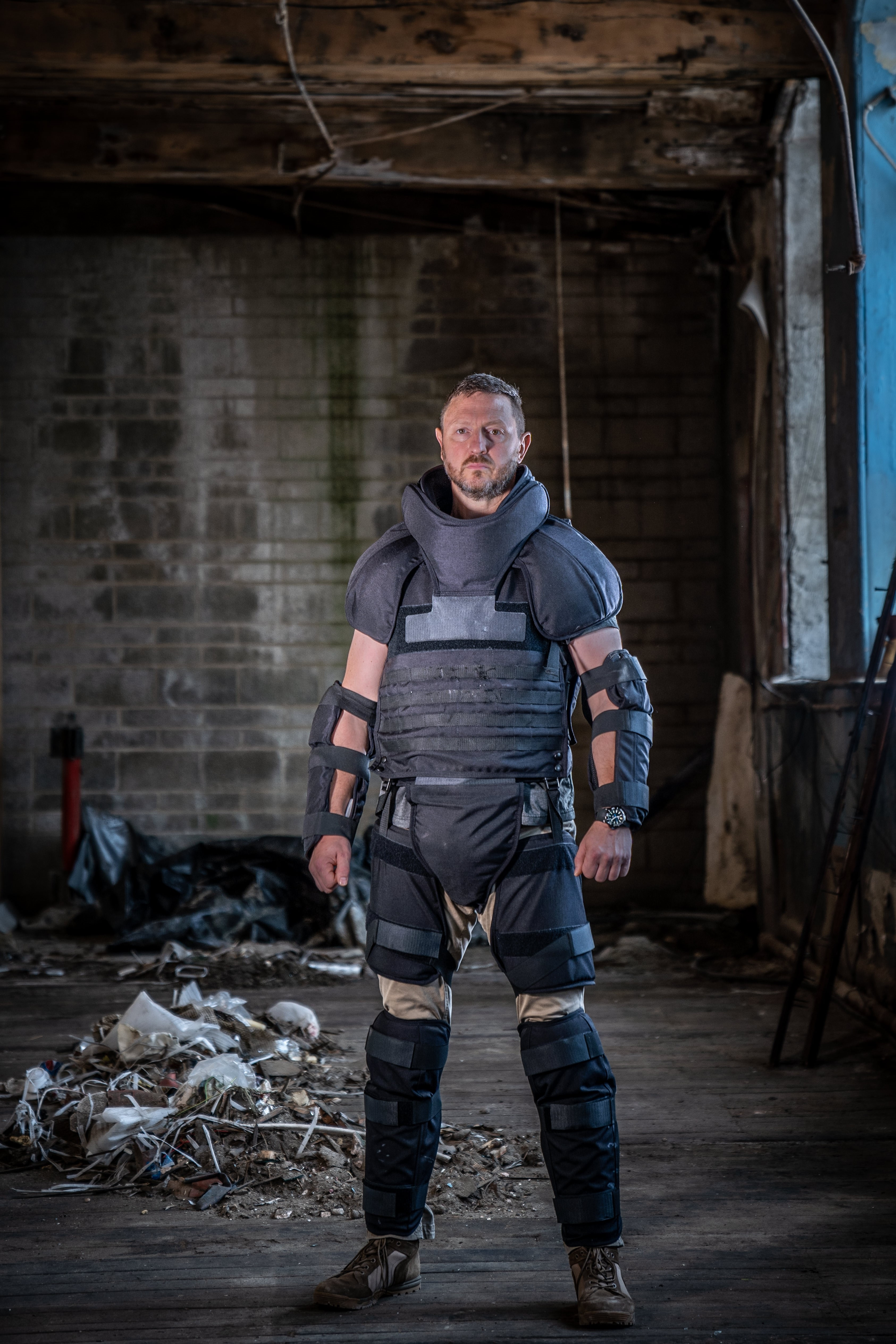 PPSS Group Launches Stab Resistant Anti Riot Suit