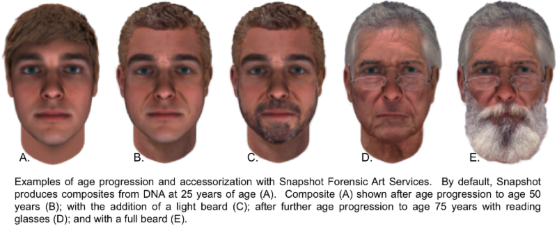 Parabon Announces New Snapshot Forensic Art Service