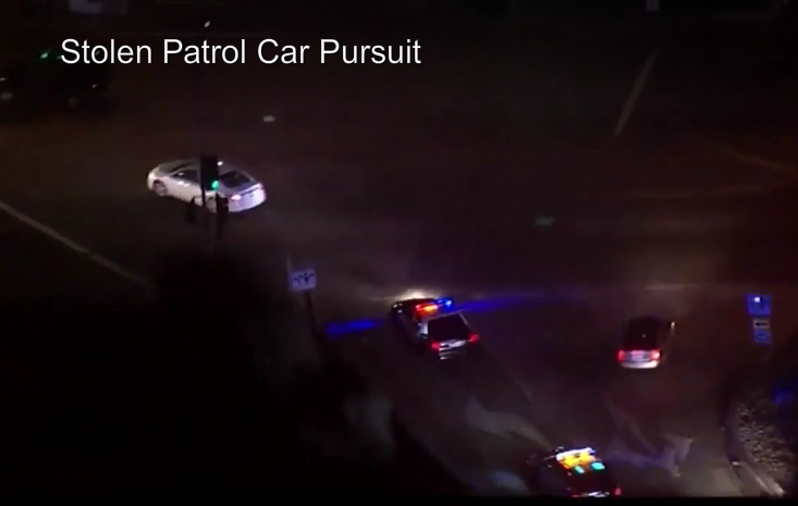 Video: California Officers Fatally Shoot Man After Stolen Patrol Car Chase