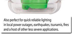 Pelican 3310ELS Emergency Lighting Station Provides Illumination in Blackouts