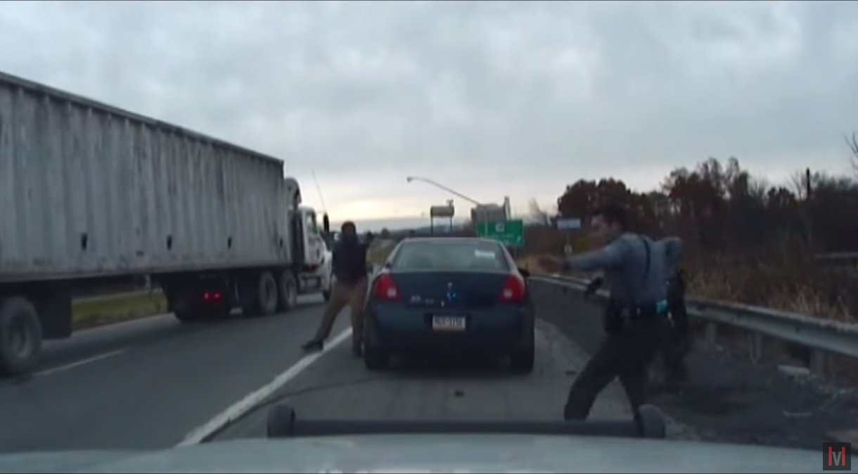 Video: Suspect Opens Fire on Pennsylvania Troopers During Traffic Stop