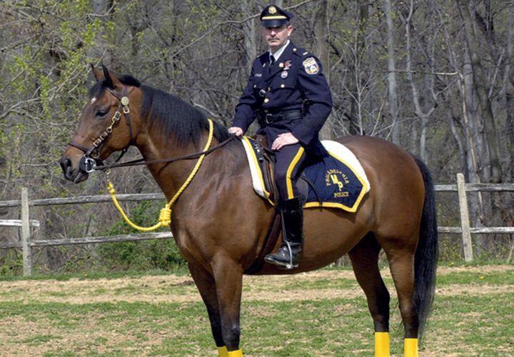 Philly Police Saddle Up Mounted Unit