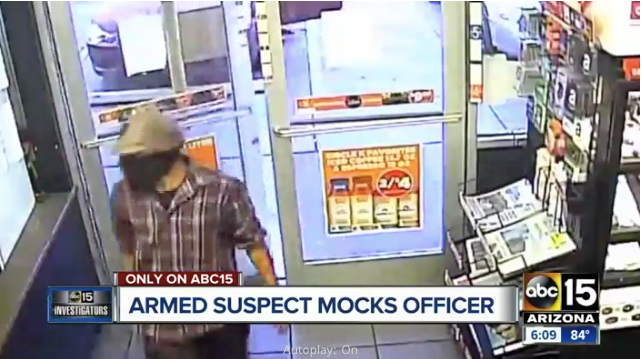 Video: Phoenix Officer Under Investigation for Allegedly Failing to Report Robbery Attempt