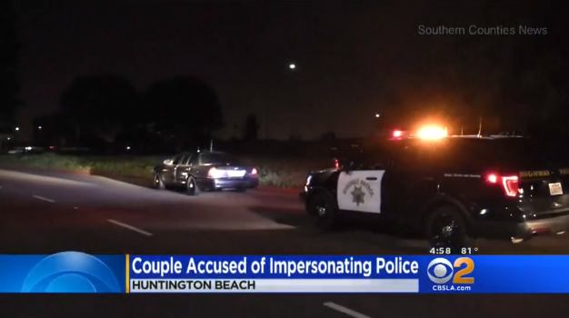 Video: Phony CA Cops Try to Pull Over Real Sergeant with Predictable Results