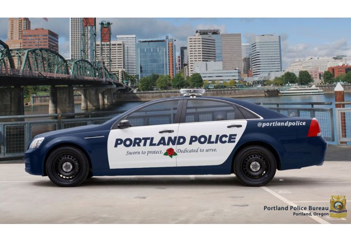 Portland Police Unveil Redesigned Patrol Cars