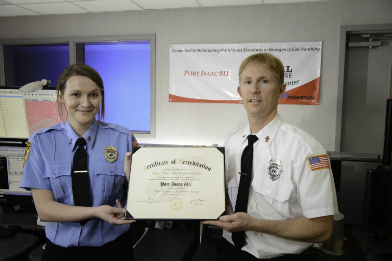 Sugar Land Public Safety Dispatch Receives Total Response Reaccreditation