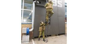 New Carbon Ladder Provides Rapid Access for Assault Teams