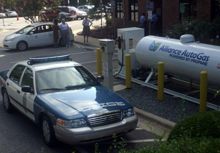 N.C. Agency Running 10 Crown Vics On Propane Fuel