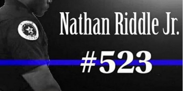 Officer Nathan Riddle ofthe Conway (AR) Police Department died Sunday after complications due...