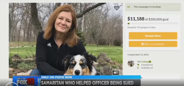 Video: Family Sues Woman who Shot, Killed Man Attacking Indiana Officer