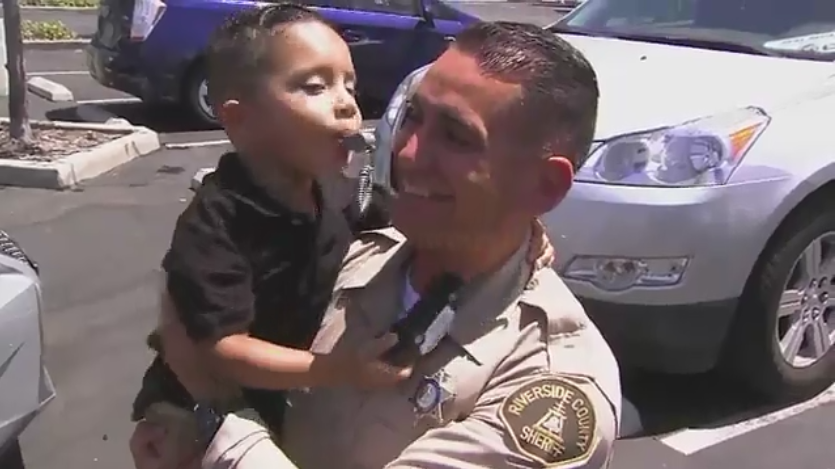 Video: Off-Duty CA Deputy Saves Choking 3-Year-Old Boy