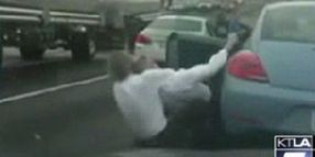 Retired Cop Subdues Road-Raging Attorney