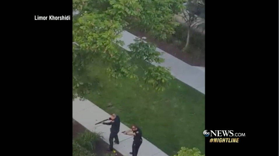 Video: San Diego Police Respond to Pool Party Shooter