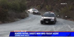 Man Accused of Striking Border Patrol Agent with Rock, Stealing ATV