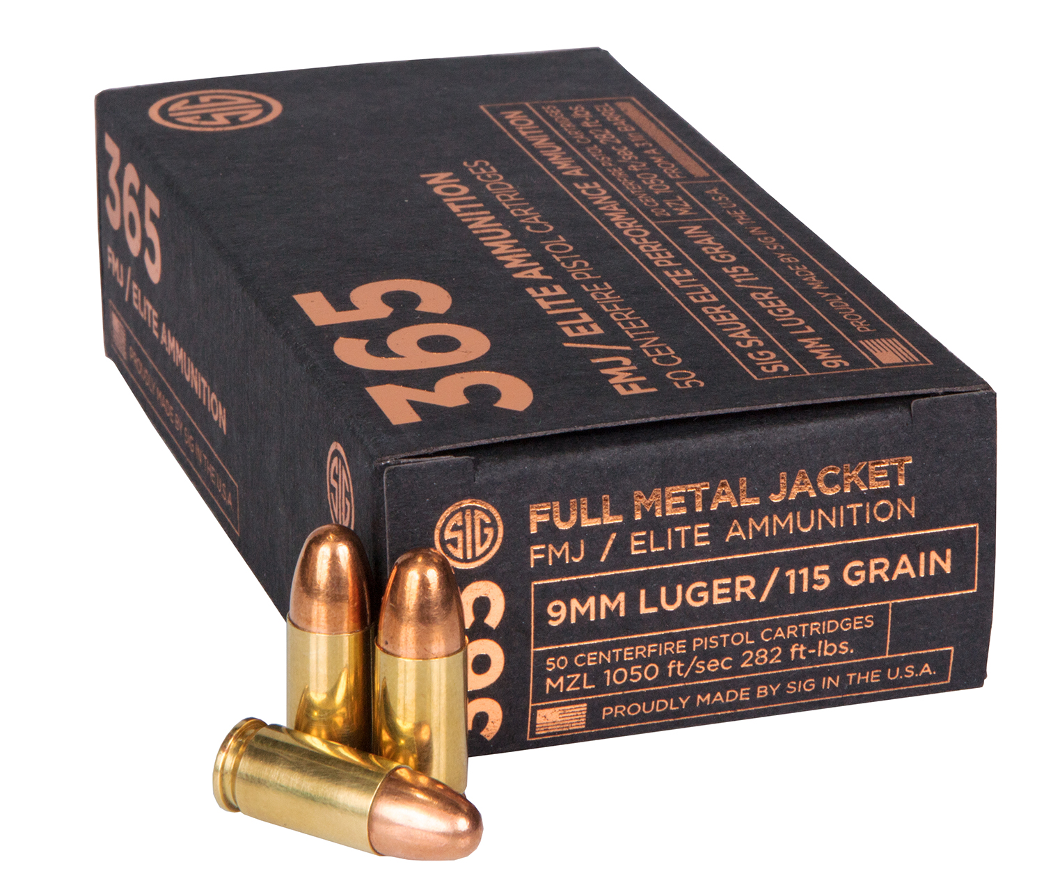 SIG Sauer Introduces SIG 365 Ammunition Optimized for Everyday Carry