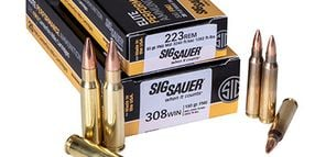 SIG Sauer Introduces 223 Rem and 308 Win SIG FMJ Rifle Ammunition