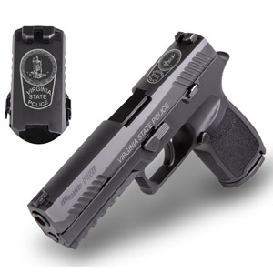 Virginia State Police Select SIG Sauer P320 Pistol for Standard Issue Firearm
