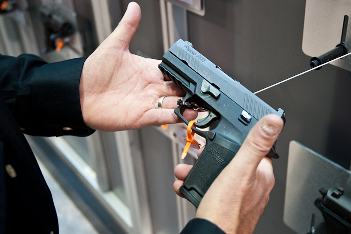 SHOT Show 2014: SIG Debuts Striker-Fired Duty Pistol