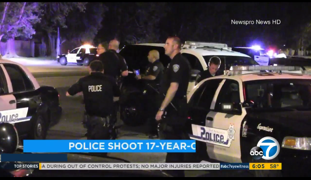 Video: California Officers Ambushed in Unmarked Vehicle, Suspect Wounded in Gunfight