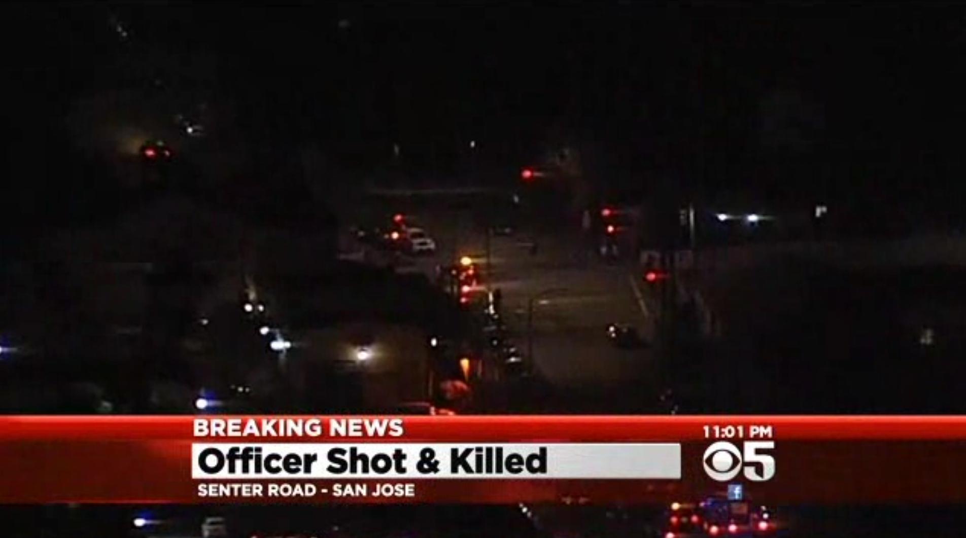 Video: San Jose Officer Ambushed and Killed at Domestic Call