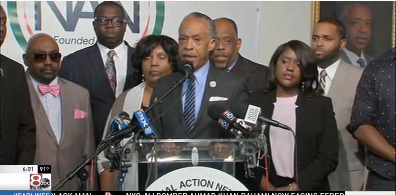 Video: Sharpton Wants Tulsa Officer Who Said Crutcher Looks Like