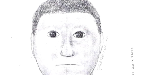 """Online critics have called this composite sketch a """"cartoon."""" (Photo: Lamar County (Texas)..."""