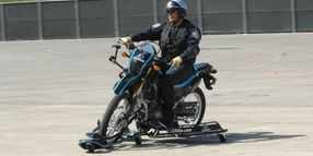 Skidcar Introduces Skidbike for Police Motorcycle Trainers