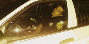 N.J. Officer Suspended for Sleeping In Cruiser