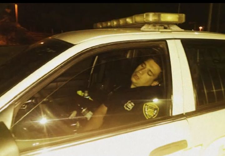 N.J. Officer Suspended for Sleeping In Cruiser