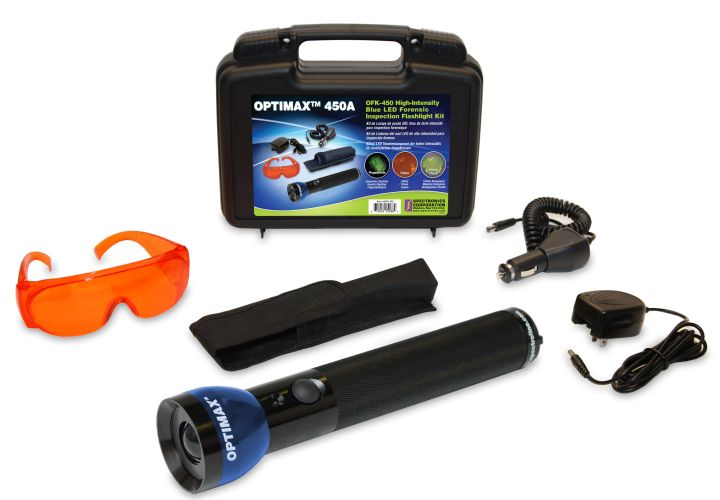 Spectronics Introduces Forensic Light Kit