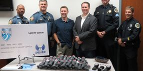 Craig Morgan, Spirit of Blue Foundation Present Safety Equipment Grant to TN Sheriff's Office