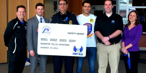 Rochester PD Receives Safety Equipment Grant from The Spirit of Blue Foundation