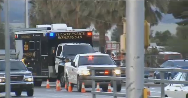 Video: Man Threatens to Explode RV at Tucson Police Station, Standoff in Progress