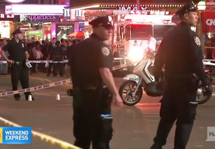 Bystanders Hit When NYPD Officers Open Fire In Times Square